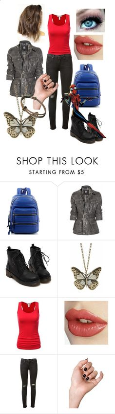 New Students by beth1388 ❤ liked on Polyvore featuring Marc Jacobs, Belstaff, rag  bone and Hot Topic