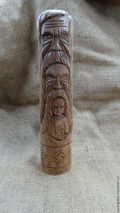 Wood Carving Art, Wood Art, Chur, Vikings, Scandinavian, Vase, Totems, Woodcarving, Home Decor