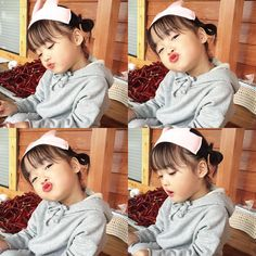 With yo cute self! Cute Asian Babies, Korean Babies, Asian Kids, Cute Babies, Cute Little Baby, Little Babies, Baby Kids, Baby Boy, Couple With Baby