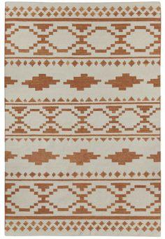 Genevieve Gorder Moon Rug, Rust // #tribal #rug #homedecor