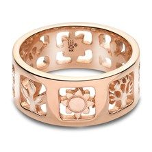 James Avery Nature Ring in 14KT Yellow Gold