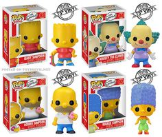 The Simpsons by Funko: POP! Television Vinyls