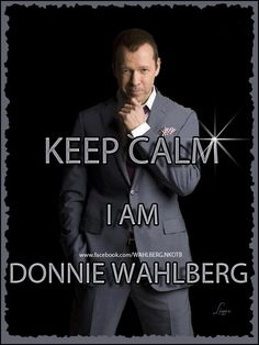 Donnie Wahlberg ~ New Kids On The Block