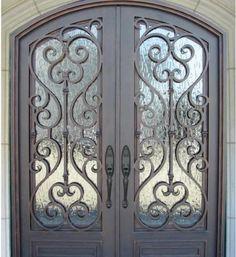 Puerta herrería