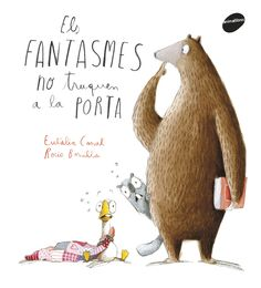 Os fantasmas non petan na porta / Eulàlia Canal Iglesias ; Book Illustration, Character Illustration, Reading Activities, Cute Characters, I Love Books, Book Cover Design, Design Reference, Kids And Parenting, Childrens Books