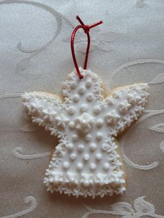 "3"" angel sugar cookie ornament"
