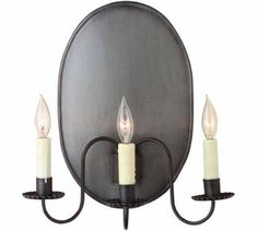 Early American Antique Wall Sconce: Hammerworks Wall Sconce 801B