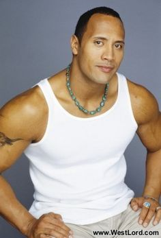 Dwayne Johnson -- yeah, I was thinking of him when I wrote Sam Watson's character in Private Property and Personal Protection