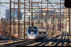 RailPictures.Net Photo: AMTK 2035 Amtrak Bombardier/Alstom Acela Express Trainset at North Elizabeth, New Jersey by Mitch Goldman