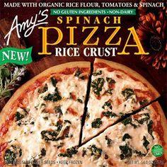 frozen pizza   Amy's Kitchen GFCF Frozen Pizza
