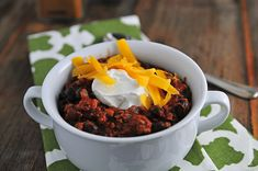 Weeknight Black Bean Chili Recipe from addapinch.com