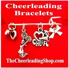 Cheerleading Love Cheer Bracelets :-)