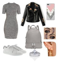 """""""Untitled #886"""" by consueee on Polyvore featuring French Connection, Yves Saint Laurent, WithChic and Michael Kors"""