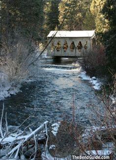 Shevlin Park Covered Bridge