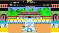 Yie ar Kung Fu arcade gameplay ไอหยากังฟู ฉบับอาเขต