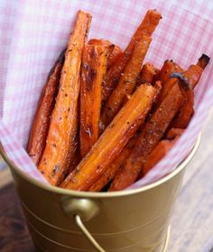 Paleo Baked Carrot Fries