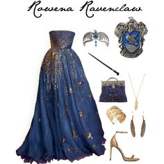 A fashion look from August 2015 featuring Valentino gowns, Yves Saint Laurent sandals and Selection Privee clutches. Browse and shop related looks.
