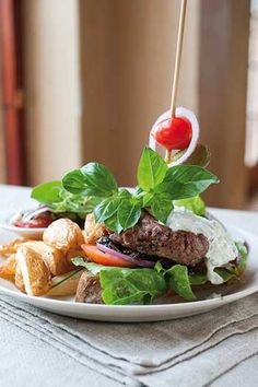 Gourmet Karoo Lamb Burger recipe