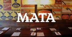 With a spin on South American cuisine adapted to the multicultural tastes of Toronto, Mata takes you on a journey south of the border.