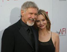 Harrison Ford y Calista Flockhart-Después de ocho años juntos, se casaron en 2010. Ford, de 67 años, y Flockhart, de 45, comenzaron a salir a raíz de conocerse en la entrega de los Globos de Oro de 2002
