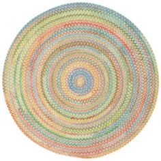 Capel Baby's Breath Reversible Braided Round Rug - JCPenney