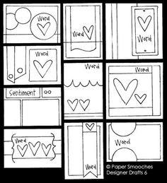 Paper Smooches: Designer Drafts 6