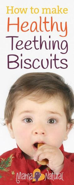 Store bought teething biscuits are filled with junk – corn syrup, soybean oil (!… Store bought teething biscuits are filled with junk – corn syrup, soybean oil (! Here's an all natural teething biscuits recipe that kids love. Toddler Meals, Kids Meals, Toddler Food, Toddler Recipes, Baby Snacks, Baby Foods, Food Baby, Sem Gluten Sem Lactose, Baby Eating