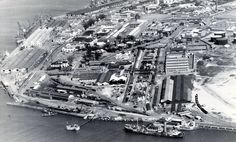 Durban Harbour from the air, The Point News South Africa, Durban South Africa, Historical Photos, Family History, City Photo, Old Things, African, Pictures, Memories