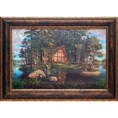 Found it at Wayfair - 'Freedom's Promise' by Kim Norlien Framed Painting Print
