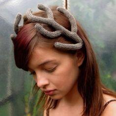 Celapiu antlers headpiece