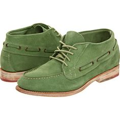 green suede boot/shooz