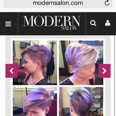 """""""I did a quick write up for this color for modernsalon.com visit the site and search """"Dillaha"""" for the formula! Thanks again @mulhernmaggie!! #hair…"""""""