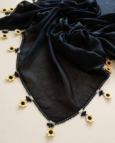 Crochet Lace Scarf, Crochet Earrings Pattern, Crochet Doily Diagram, Booties Crochet, Crochet Shoes, Cotton Crochet, Bead Crochet, Ruffle Scarf, Embroidery Suits Design