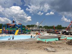 Sunset Resort Water Park Construction Updates 14 05 2015