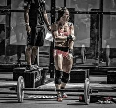 Stacie Tovar - who is up for a challenge?? #CrossFit