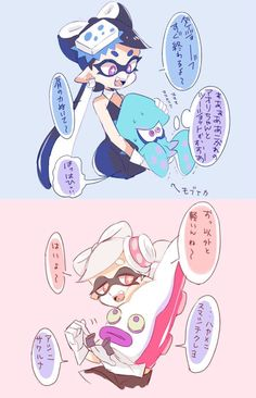 """Squid vs Octopus I would pick Squid but I kinda think the octarians need respect here..... (They shouldn't make Marie evil since she on the Octopus side) """"ahem"""" Team Octopus!"""