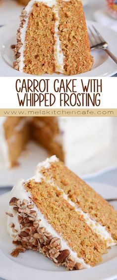 This is hands-down the best carrot cake ever! Simple to make, this delicious carrot cake with cream cheese frosting is soft, tender and perfect!