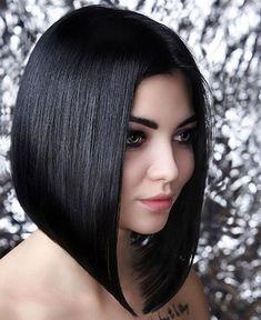 66 Chic Short Bob Hairstyles & Haircuts for Women in 2019 - Hairstyles Trends Angled Bob Haircuts, Bob Haircuts For Women, Long Bob Hairstyles, Pixie Haircuts, Braided Hairstyles, Wedding Hairstyles, Medium Hair Cuts, Medium Hair Styles, Short Hair Styles