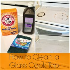 The Serene Swede: Cleaning a Glass Cook Top Stove