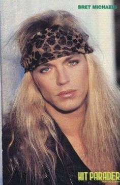 welcome to the fucking jungle — Happy birthday, you sexy man! (Born on March. Bret Michaels Poison, Bret Michaels Band, Hair Metal Bands, 80s Hair Bands, Alicia Keys Braids, 80s Rock Fashion, Glam Rock Bands, Lita Ford, Glam Metal
