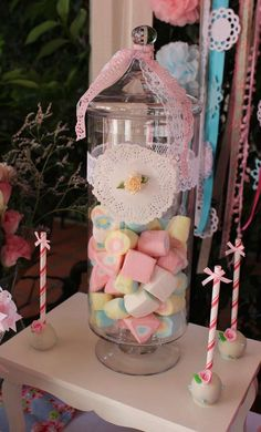 Shabby chic Baptism Party Ideas | Photo 1 of 19 | Catch My Party