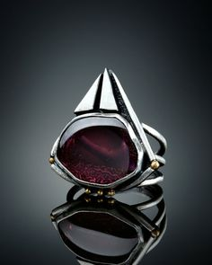 Tourmaline Ring size 7 by Amy Buettner on Etsy