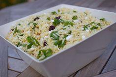 tri-colore orzo salad