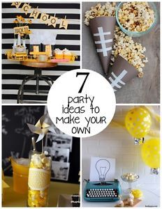 7 party ideas to make your own