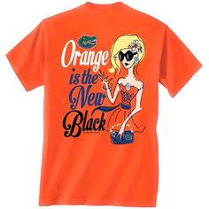 Orange is the new Black Florida Gators Tee