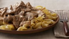 Beef Stroganoff Slow cooker - Stroganoff, once only a weekend special, can now be served weeknights thanks to slow cooking.Slow cooker - Stroganoff, once only a weekend special, can now be served weeknights thanks to slow cooking. Slow Cooker Beef Stroganoff Recipe, Crock Pot Slow Cooker, Slow Cooker Recipes, Crock Pot Stroganoff, Mushroom Stroganoff, Healthy Crockpot Recipes, Beef Recipes, Cooking Recipes, Crockpot Meals