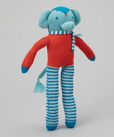 Loving this Elephant Long-Legs Plush Toy on #zulily! #zulilyfinds