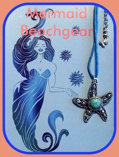 Starfish Necklace by MermaidBeachgear on Etsy