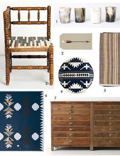 Southwest style Southwest Decor, Southwestern Decorating, Southwest Style, Interior Inspiration, Design Inspiration, Room Inspiration, Navajo Style, American Decor, Tropical Decor