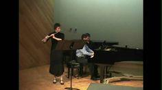 Bach B minor sonata for flute and piano, 1st movement, Jen McLachlen